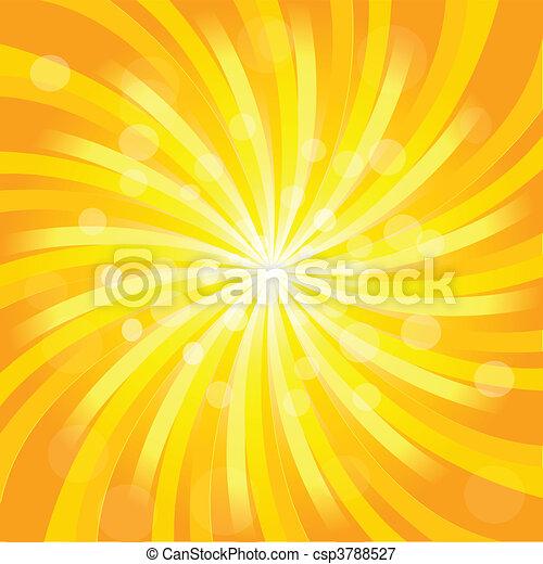 zonnestraal, effect - csp3788527