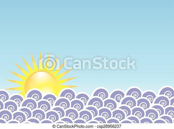 zonopkomst - csp28956237