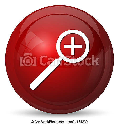 Zoom in icon - csp34164239