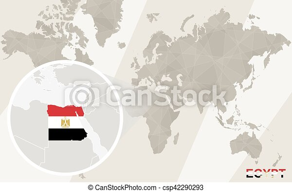 Zoom on egypt map and flag world map eps vectors search clip art zoom on egypt map and flag world map csp42290293 gumiabroncs Gallery