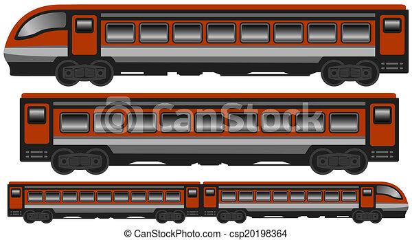 Moderner Zug - csp20198364