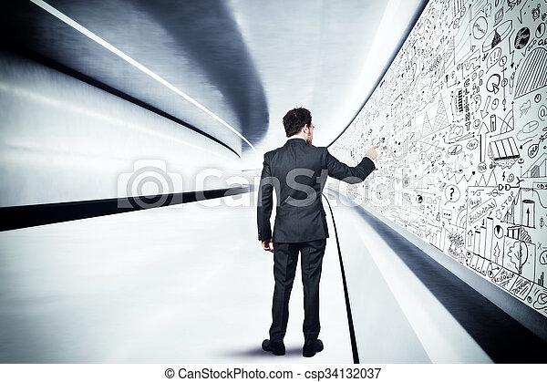 Analyse der Zukunft - csp34132037