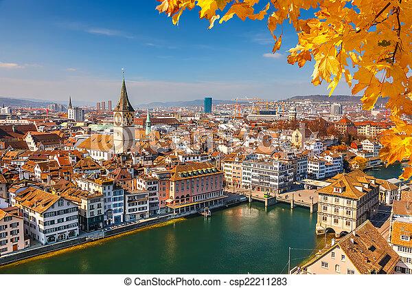 Zurich - csp22211283