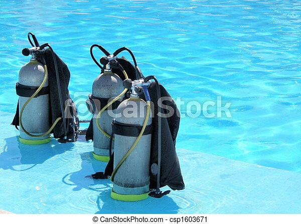 zuurstoftanks - csp1603671