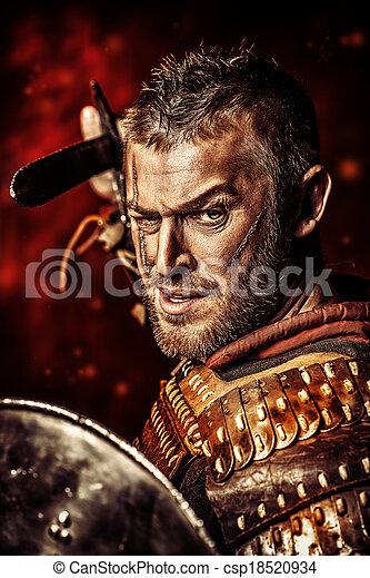 zwaard, man - csp18520934
