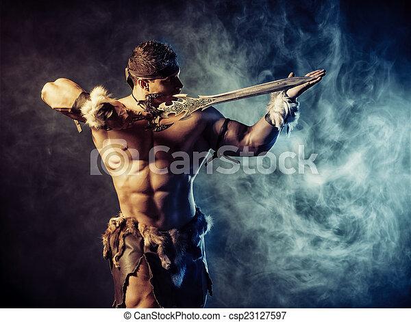 zwaard, metalen - csp23127597