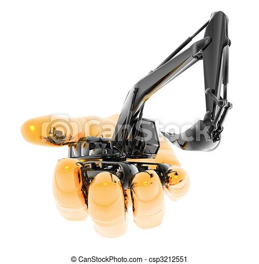 zware, graafwerktuig - csp3212551