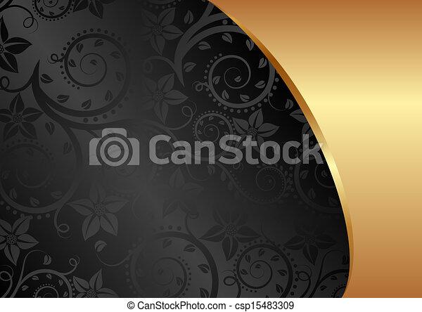 zwarte achtergrond - csp15483309