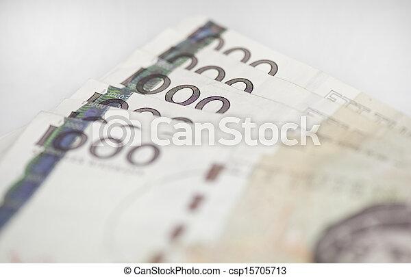 zweeds, rekeningen, 1000 - csp15705713