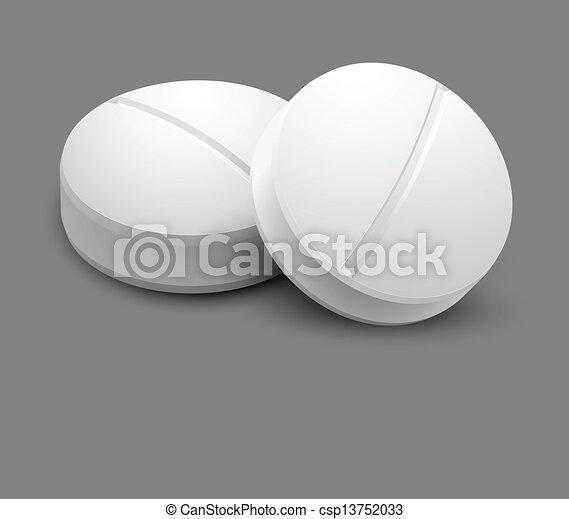 zwei, pillen - csp13752033