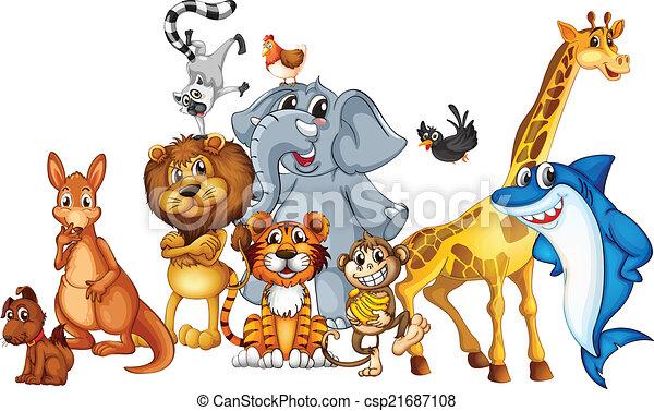 zwierzęta - csp21687108