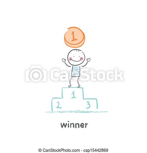 zwycięzca - csp15442869